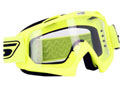 Masque Cross ECO Jaune Fluo